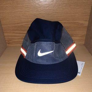 5 Panel 3M Nike Hat Strapback Running Fit Swoosh